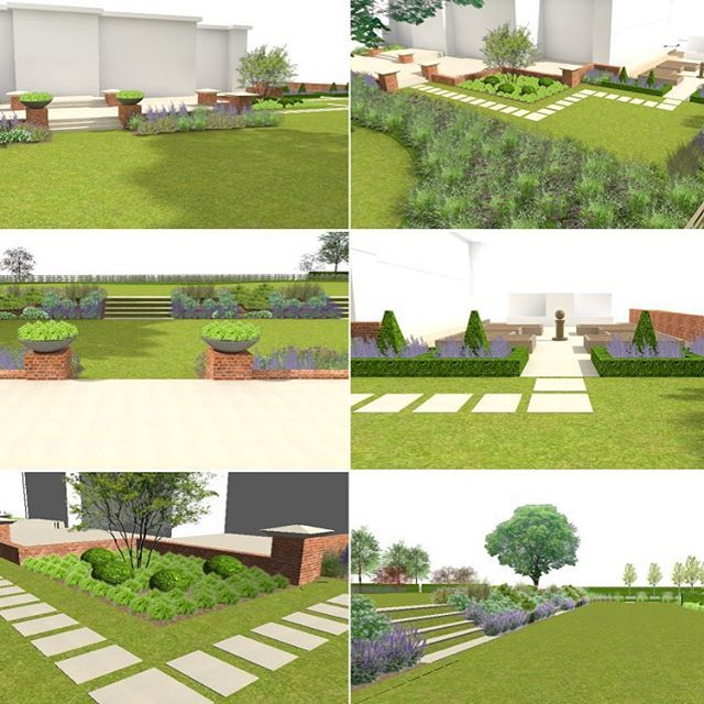 The visuals for our Itchenor project are looking good. #gardendesign #landscapedesign #landscaping #designstudio #itchenor #gardendesignchichester #designer #design #cad #vectorworks @vectorworks