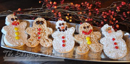 Rice Krispie Treats Christmas Ideas | International Desserts – Rice Krispies Treat Style (Recipes & $100 ...