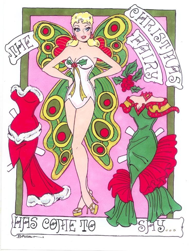 Christmas Fairy by Larry Bassin 2012 page 1 of 2