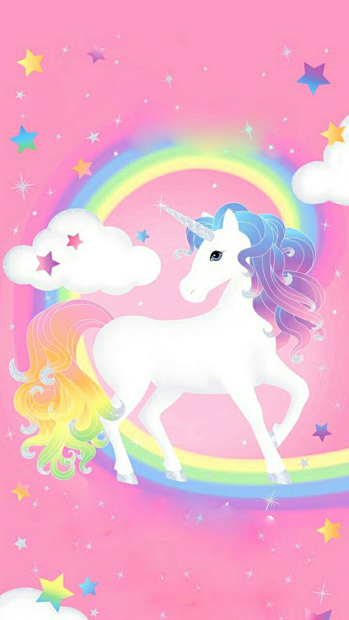Cute Rainbow Unicorn Wallpapers Unicorn Fancy Coloful Star Wallpaper Reference In