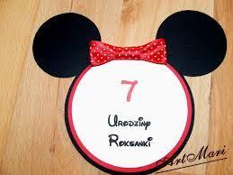 Znalezione obrazy dla zapytania urodziny myszko minnie dekoracje