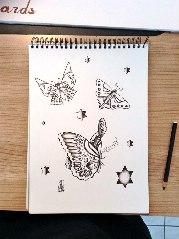 #tattoo #tattoos #flash #butterfly #art