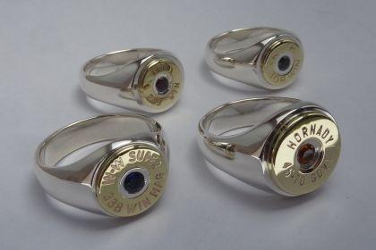 Bullet case ring