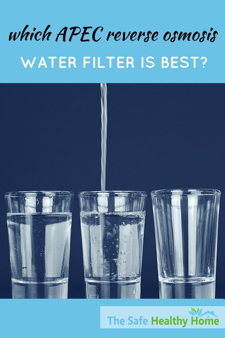 APEC makes some of the best reverse osmosis water filter systems available today. Read this review to learn about several of the different APEC models and how to choose the right one for your needs.