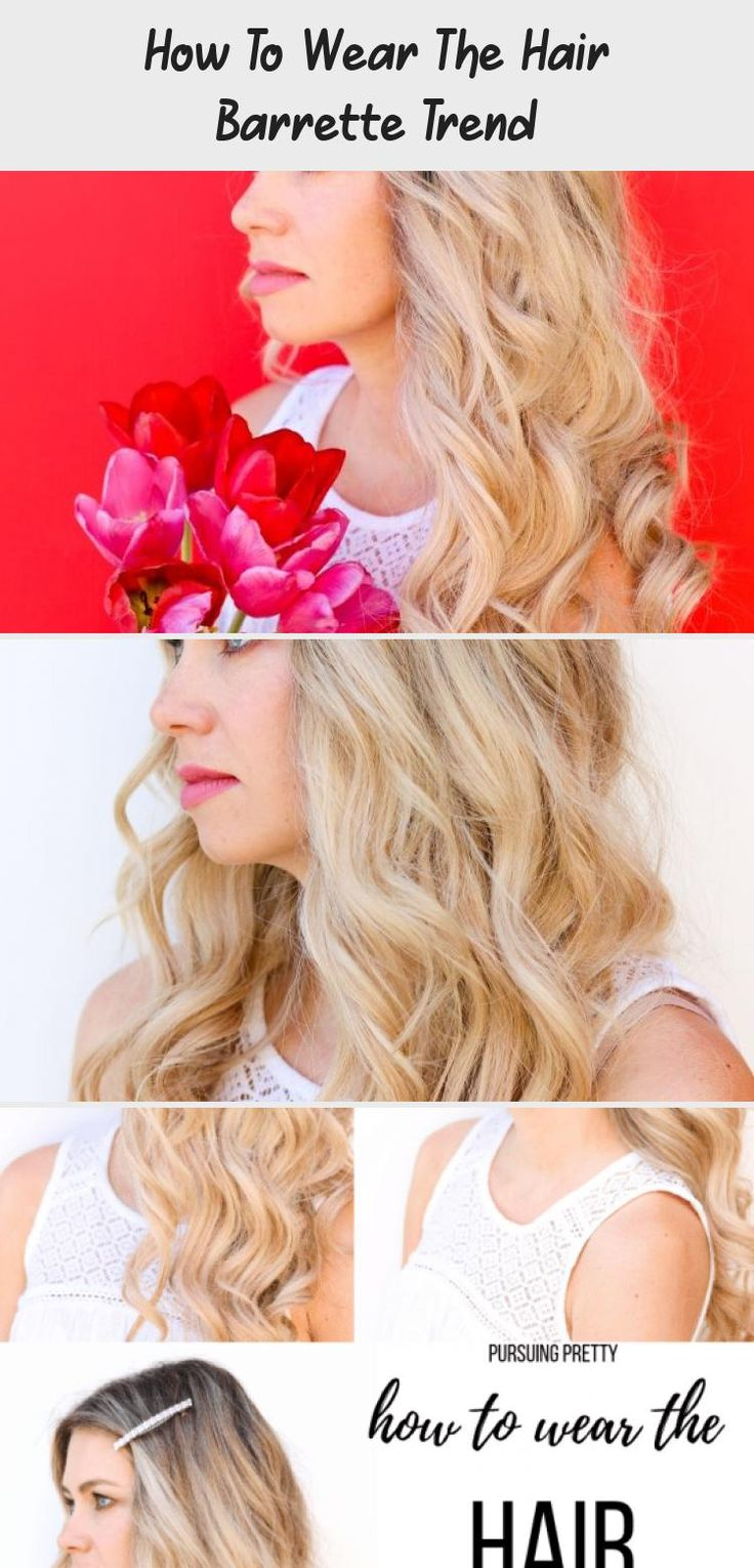 How To Wear The Hair Barrette Trend