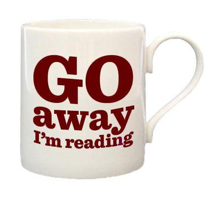 I'm reading mug. :)