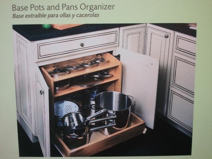 Pots & Pans storage drawer