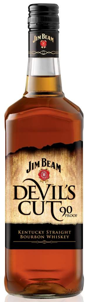 Jim Beam Devils Cut Bourbon. My favorite member of the Beam family - among those with the Jim Beam name on the label.