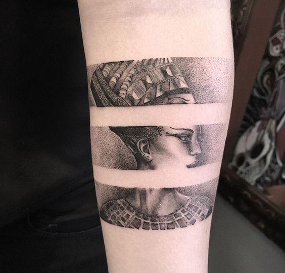 Brazaletes que tienes que tatuarte en algún punto de tu vida – #algún #Brazale…