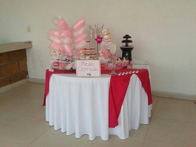 12 best mesa de dulces para ni a images on pinterest - Mesas dulces para ninas ...