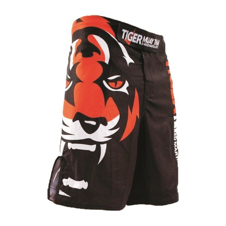 Tiger Muay Thai MMA Boxing Shorts Fighting Training Pants Martial Arts Clothing