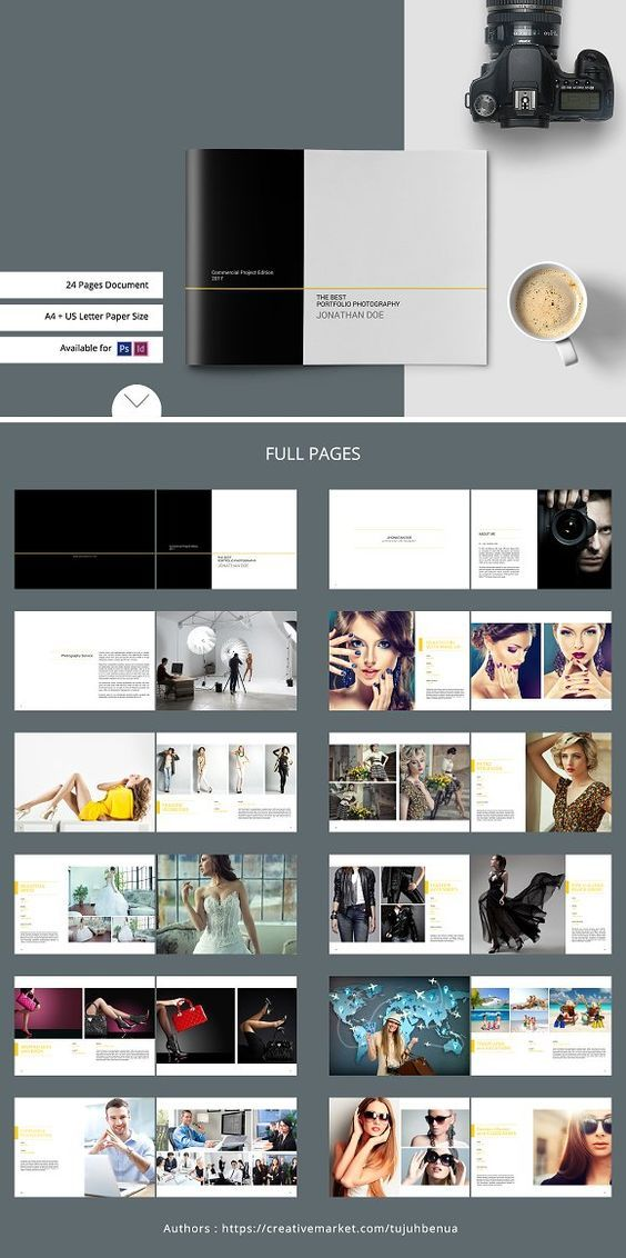 Pin By Zohix Nn On Brochures Photography Portfolio Book Photography Portfolio Layout Photobook Design