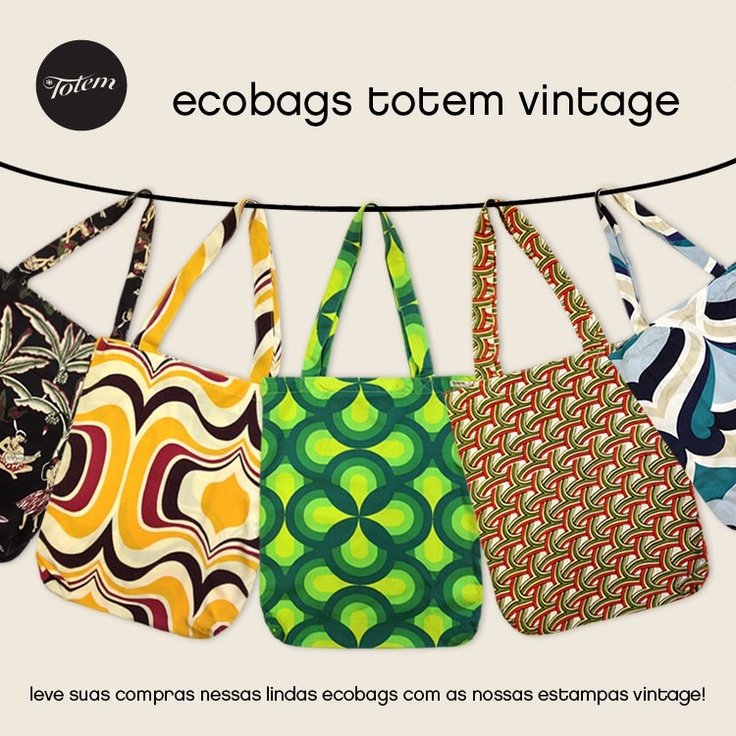 Beautiful Bags by Totem. Totem is a clothing and accessories brand from Rio de Janeiro, Brazil. Check them out!