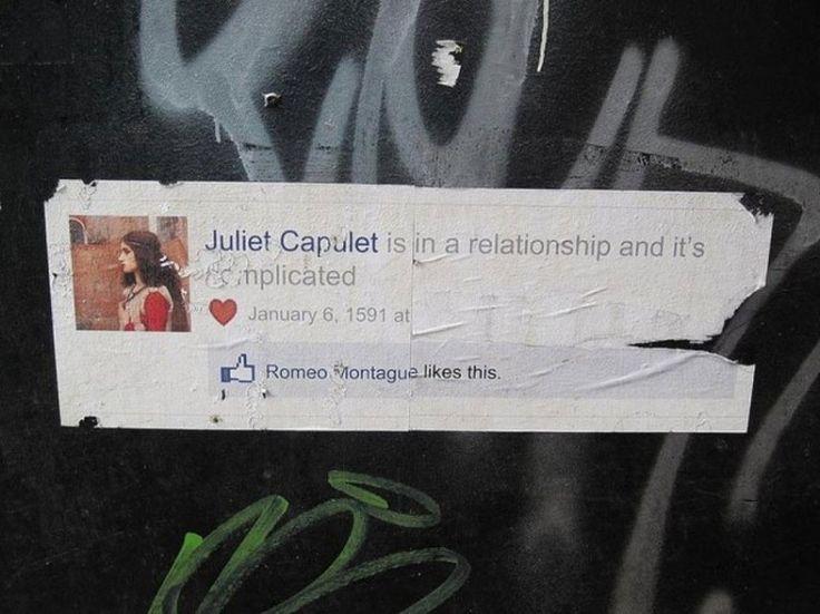 Street Art - Romeo & Juliet Facebook