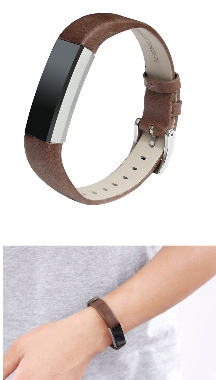Bayite Leather Replacement Bands for Fitbit Alta by bayite