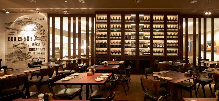És Bisztró http://www.esbisztro.hu/ | #budapest #restaurant #esbistro #design #restaurantdesign