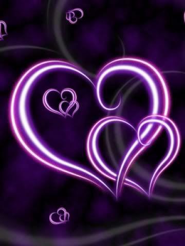 Image detail for -Purple Hearts Wallpaper | Purple Hearts Desktop Background