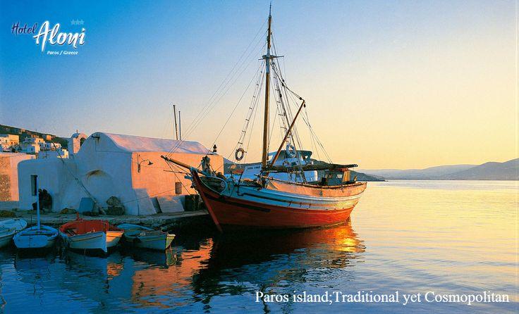Cosmopolitan yet Traditional Paros island in Greece