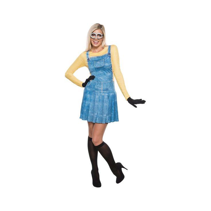 Halloween Minions Women's Female Minion Costume - Medium, Yellow