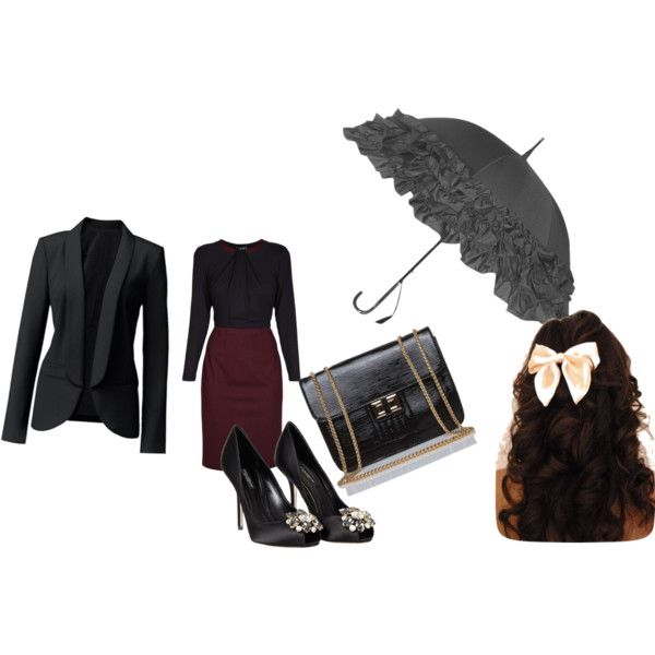 """""""Mary Poppins Inspired Outfit"""" by skmafia on Polyvore"""