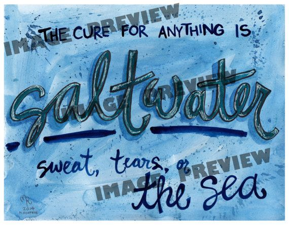 Best 25+ Salt Water Quotes Ideas On Pinterest