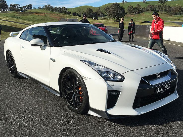 2017 Nissan GT-R in White At the dealer launch in Melbourne. #nissan #gtr #nismo