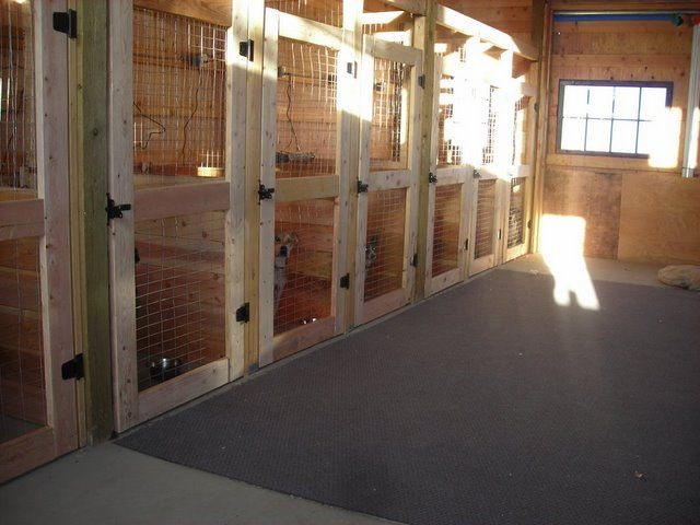 Google Image Result for http://www.unclehowards.com/Portals/0/Barn%2520Photos/Dog%2520Kennels/slater%2520kennel%2520inside.jpg  Definatly yes!! for my kennel idea. have doors that open into a run. Maybe even have a couple stalls set up for the shy or not so friendly guests