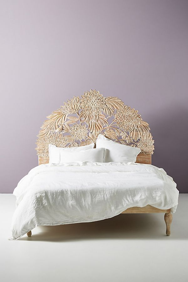 Carved Treescape Bed