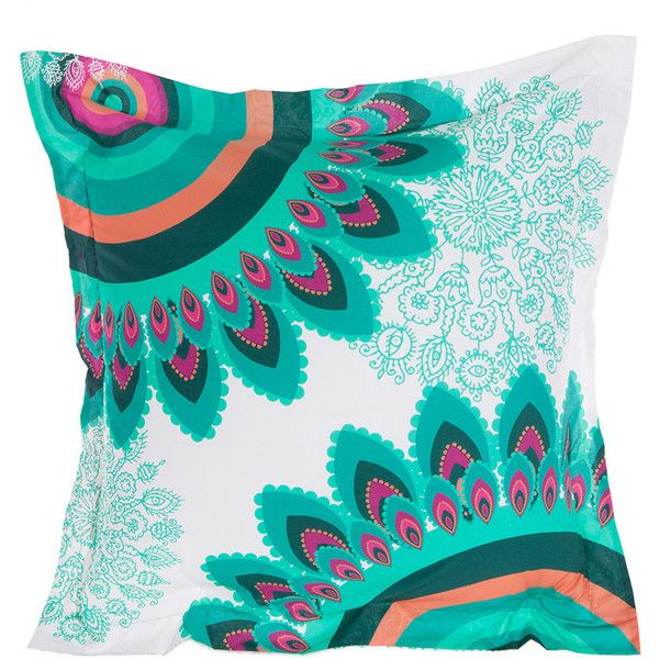 Desigual Margarita Pillowcase - Single - 65x65cm (¥4,320) ❤ liked on Polyvore featuring home, bed & bath, bedding, bed sheets, pillows, white cotton pillowcases, cotton bedding, white pillowcases, white lace bedding and lace bedding