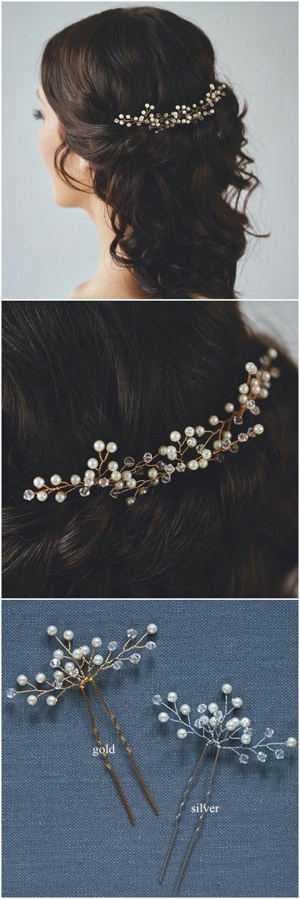 accessoires cheveux coiffure mariage chignon mariée bohème romantique retro, BIJOUX MARIAGE (164)