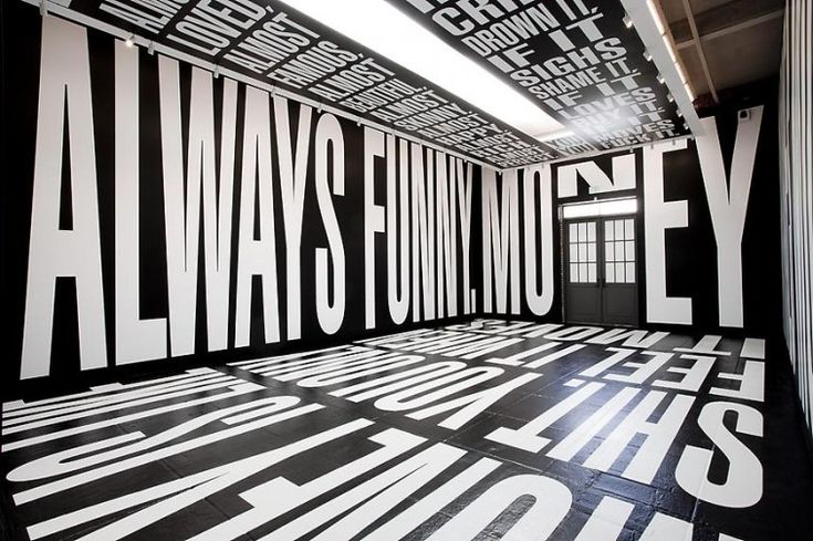 BARBARA KRUGER, EXHIBITION L ARTS LOS ANGELES 2011: i once saw #barbara_kruger on campus at ucla. that's the whole story. in other news: this is an awesome typography blog. #typetoken #exhibition