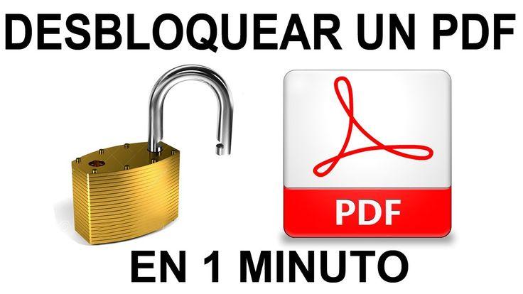 aLeXduv3: 7 Sitios web para quitar la protección de los PDF