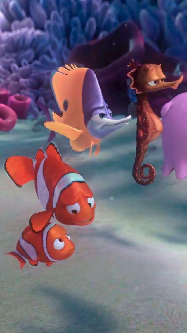*NEMO, MARLIN, TAD & SHELDON ~ Finding Nemo, 2003