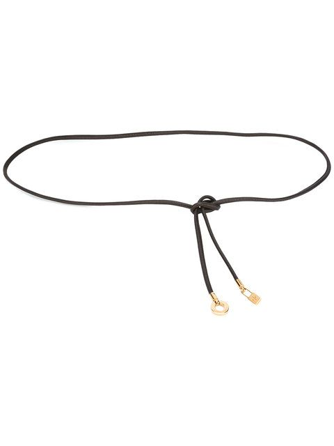 Shop Loro Piana string belt .