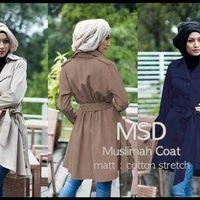 Jual Muslimah Coat - Sasilipa Shop   Tokopedia