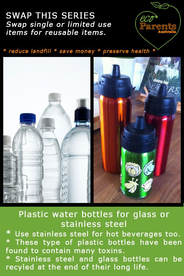 Sure you can recycle them, but eliminating plastic water bottles is a much better option. Keep them out of landfill. Glass or stainless steel bottles are much better for your health too.