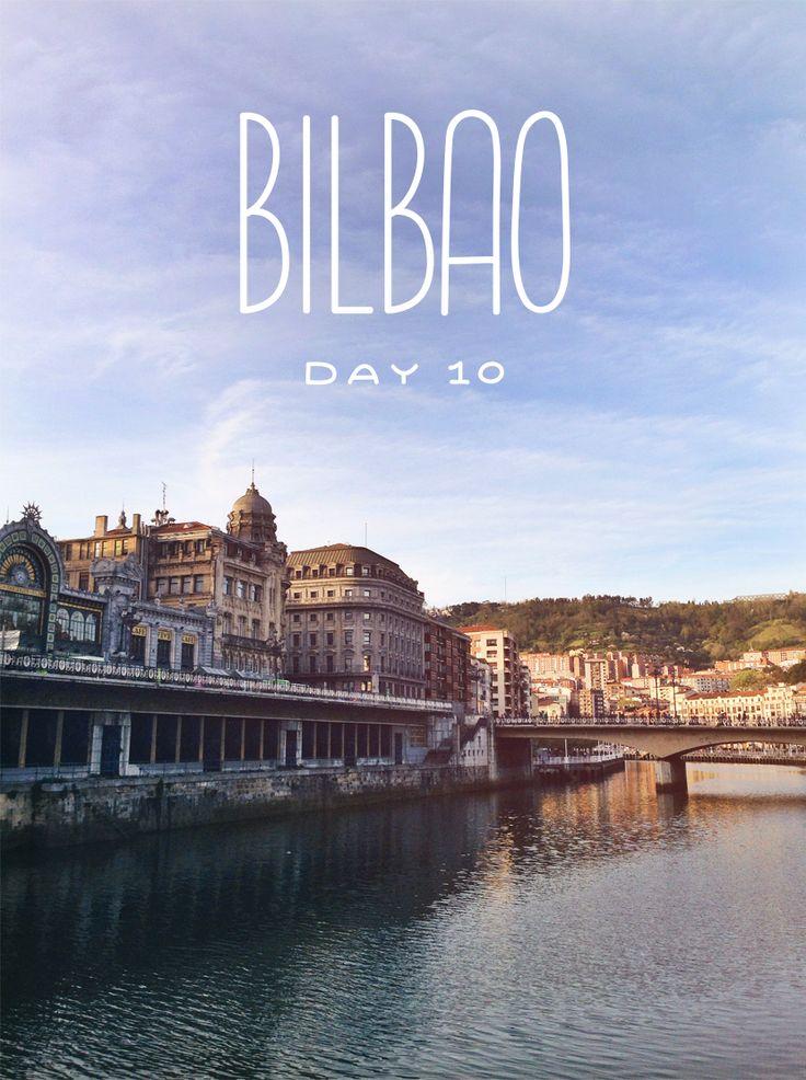 Bilbao spain at the guggenheim day 10 the fresh exchange st llen - San sebastian tourist office ...