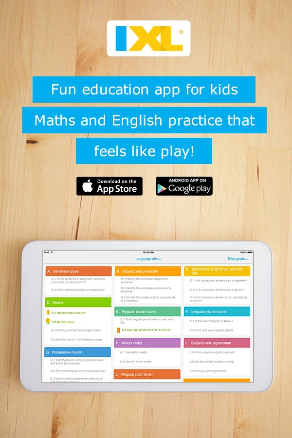 Excellent maths and English app for UK students! Interactive practice for Reception to Year 13 on iPad, Android, and Kindle Fire.