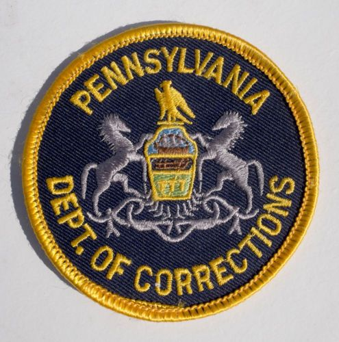Vintage-Department-of-Corrections-Pennsylvania-USA-Prison-Gaol-Patch