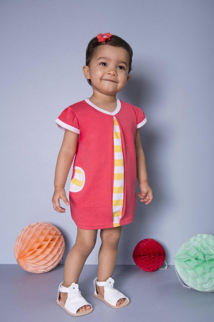 Baby & Toddler Girls Coral Dress