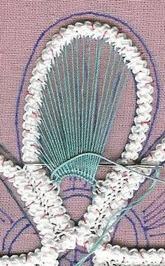 Romanian Point Lace tutorial                                                                                                                                                                                 More