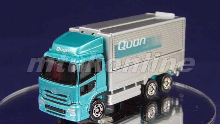 TOMICA 031F NISSAN DIESEL QUON | CHINA | 031F-01 | FIRST LIMITED BLUE