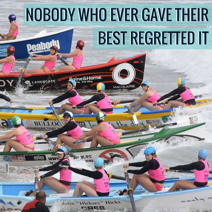 Nobody who ever gave their best regretted it.   #staminadequenchers #staminade #surfrowing #surfboat #staminadeOTqualifiers #australian #queensland #nsw #oceansport #sportsquote #inspirationalquote