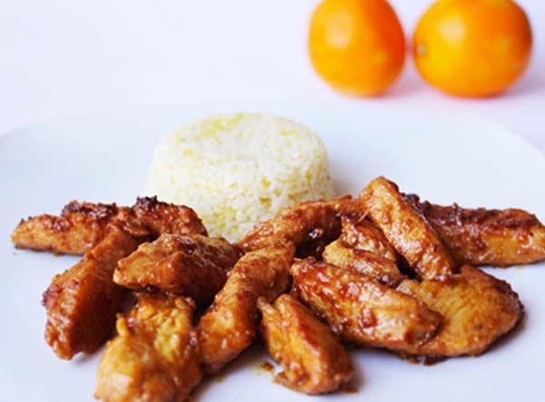 Ya os enseñamos cómo preparar el pollo al limón y ahora os enseñamos a preparar unpollo a la naranja muy especial,en este caso acompañado de un arroz a l