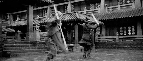 Gabu Wing Chun Campfire — isildur-elessar: Hero (2002) Jet Li vs Donnie Yen