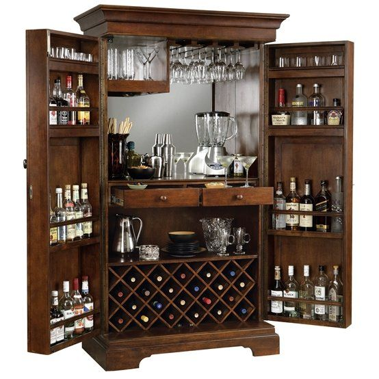 Howard Miller Sonoma Home Bar Furniture Cabinet With Images