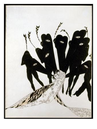 Beardsley: Salome ジクレープリント