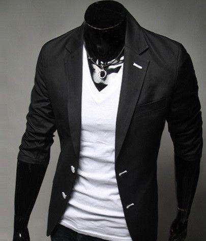 Gender:Men Item Type:Blazers Clothing Length:Regular Closure Type:Single Button Material:Cotton Sleeve Length:Full Shipping: FREE - Worldwide!
