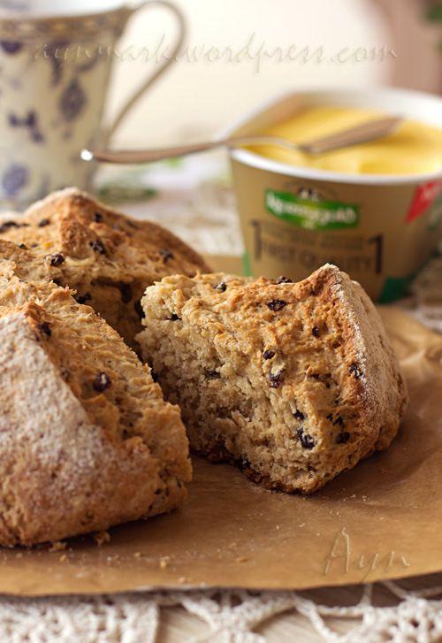 Ирландский содовый хлеб с изюмом | Мои Кулинарные Зарисовки
