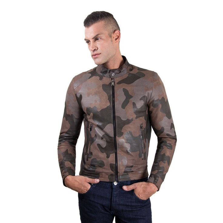 Leather Jacket mao collar green military colour mimetic fantasy Ted  #fashion #swag #style #stylish #socialenvy #PleaseForgiveMe #me #swagger #photooftheday #jacket #hair #pants #shirt #handsome #cool #polo #swagg #guy #boy #boys #man #model #tshirt #shoes #sneakers #styles #jeans #fresh #dope